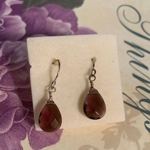 Vintage Avon facets drop earrings